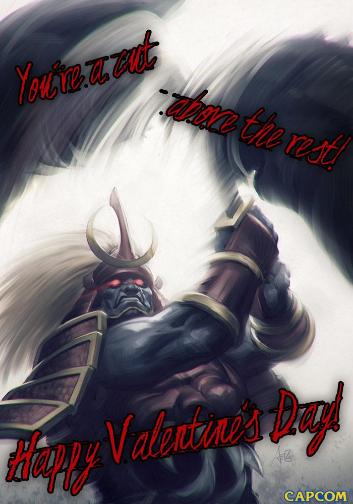 Darkstalkers Valentine's Day card #2