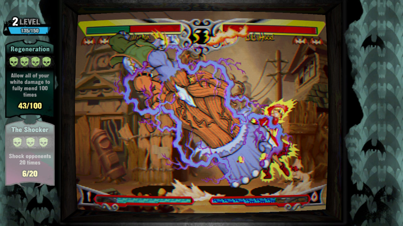 Darkstalkers Resurrection graphic filters and viewpoints #03