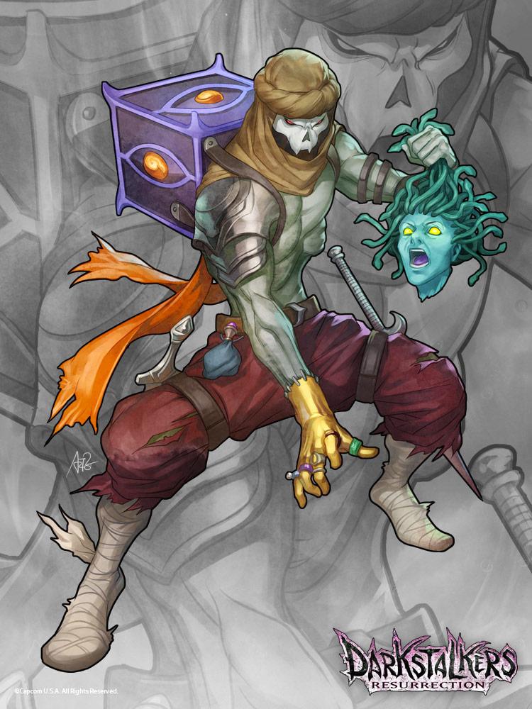 Relic - Darkstalkers Resurrection contest winner #03