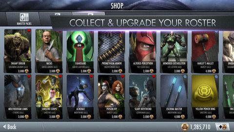 Injustice: Gods Among Us iOS screen shot #5