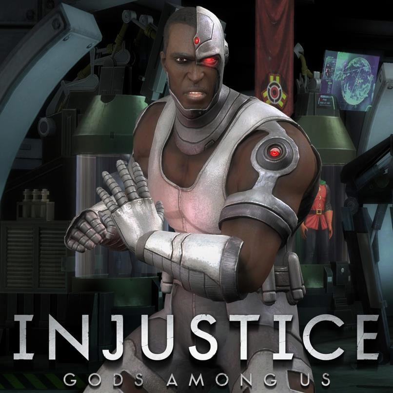 injustice gods among us cyborg teen titans alternate costume