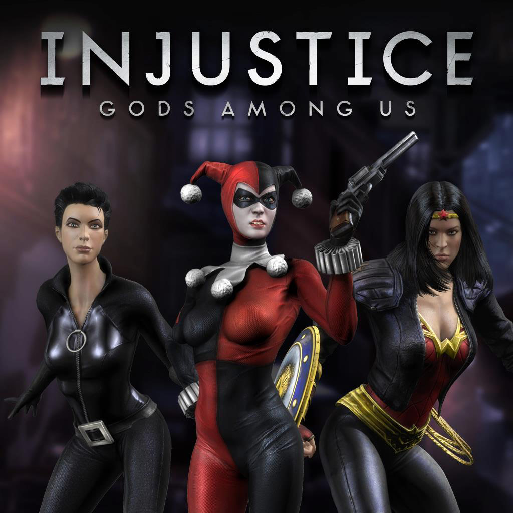 Bad Girls costume pack - Injustice: Gods Among Us