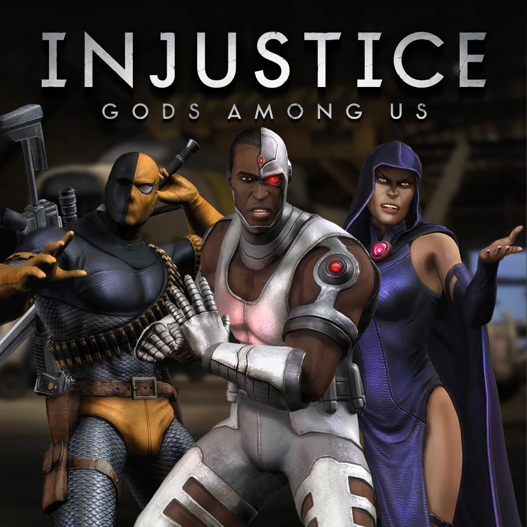 Raven's Teen Titans alternate costume in Injustice: Gods Among Us