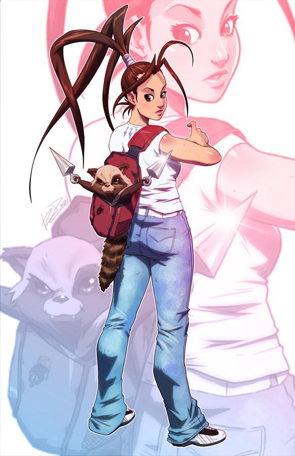 Robaato fighting game art #06