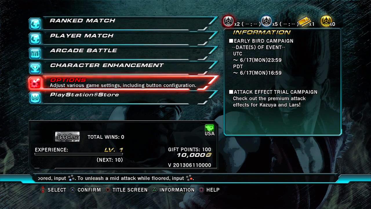 Tekken Revolution overview and explanation shot #2