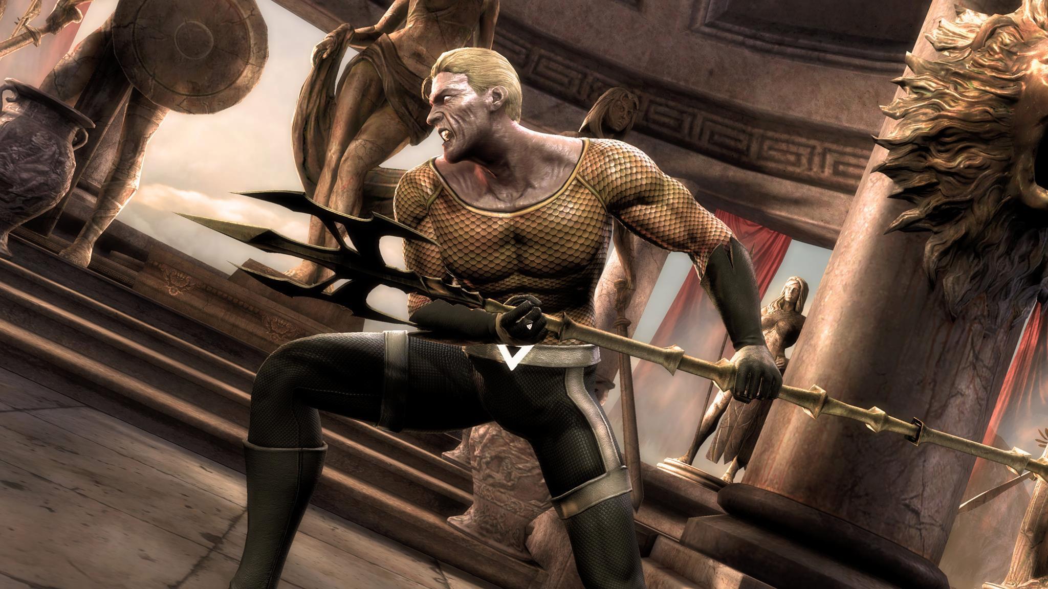Aquaman's Blackest Night alternate costume in Injustice