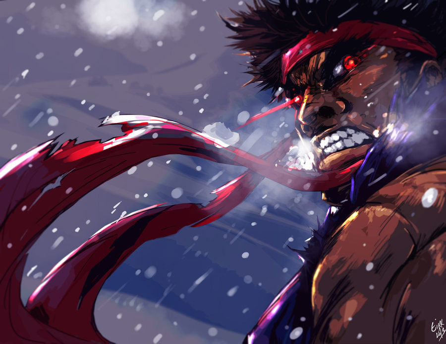 Fighting game related artwork image #1