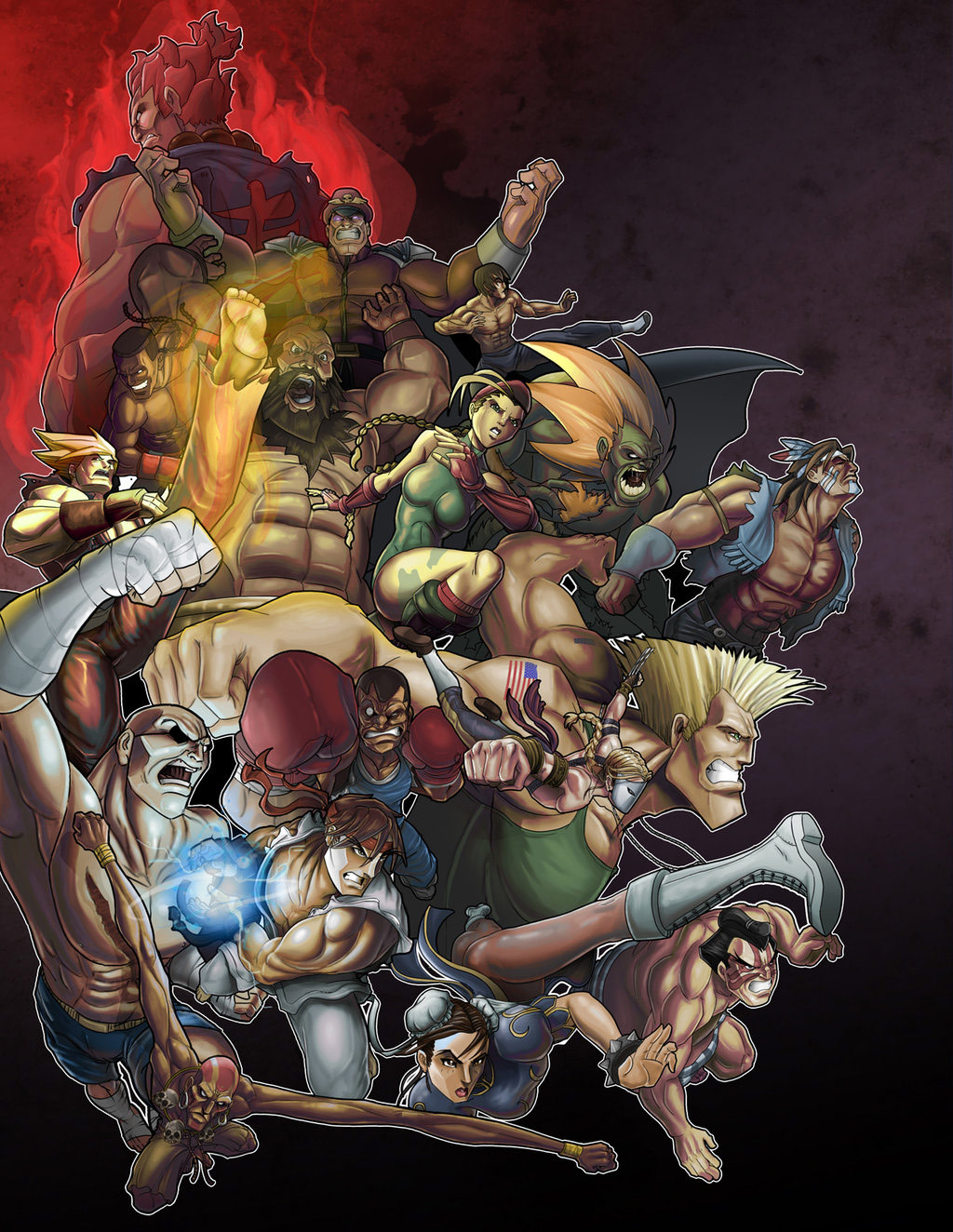 Fighting game related artwork image #7