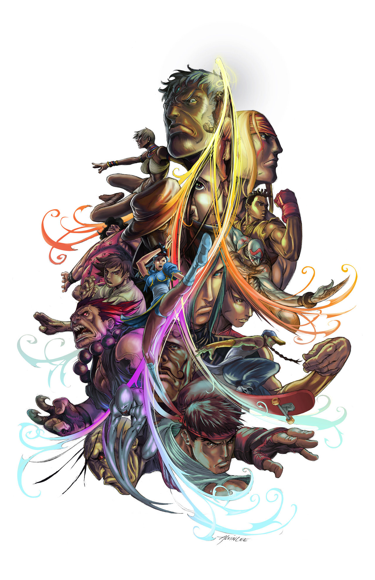 Fighting game related artwork image #8