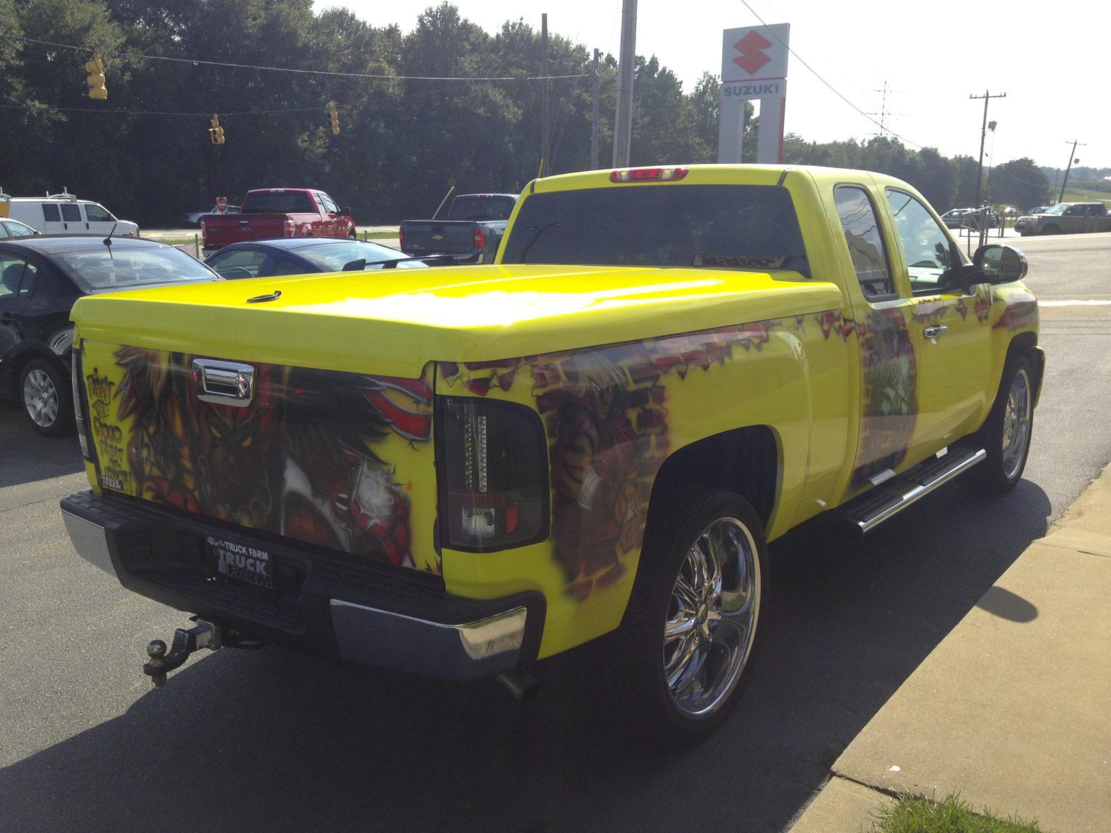 Custom Paint Job Truck