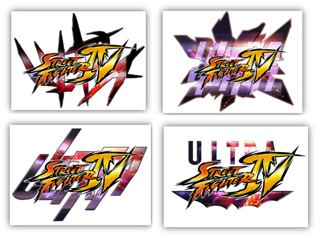 The Progression Of The Ultra Street Fighter 4 Logo Image 2
