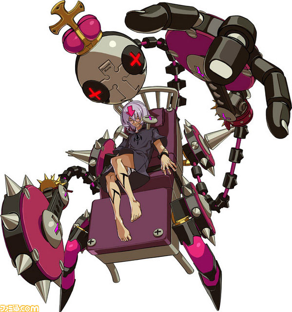 Guilty Gear Xrd -SIGN-'s first all new character, Bedman