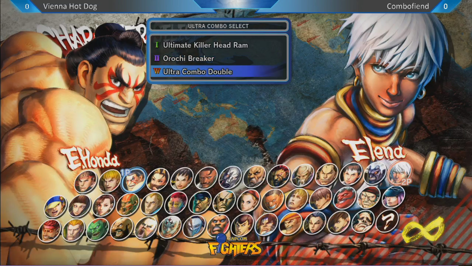 Ultra Street Fighter 4 Character Select Screen Artwork For Rolento Hugo Elena And Poison 1
