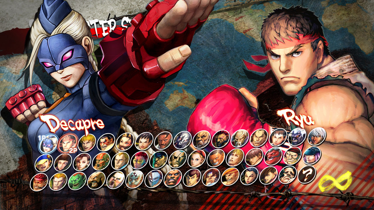 Decapre artwork and screen shots for Ultra Street Fighter 4 image #3
