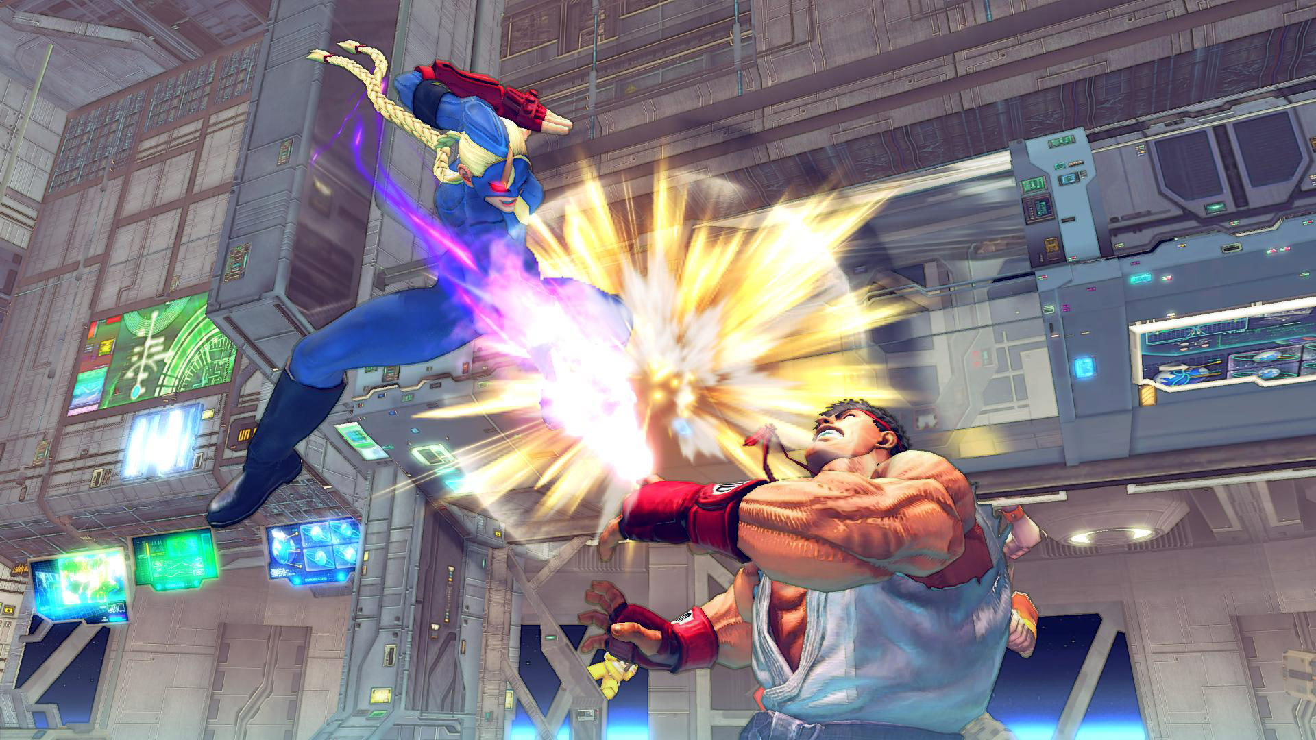 Decapre artwork and screen shots for Ultra Street Fighter 4 image #7