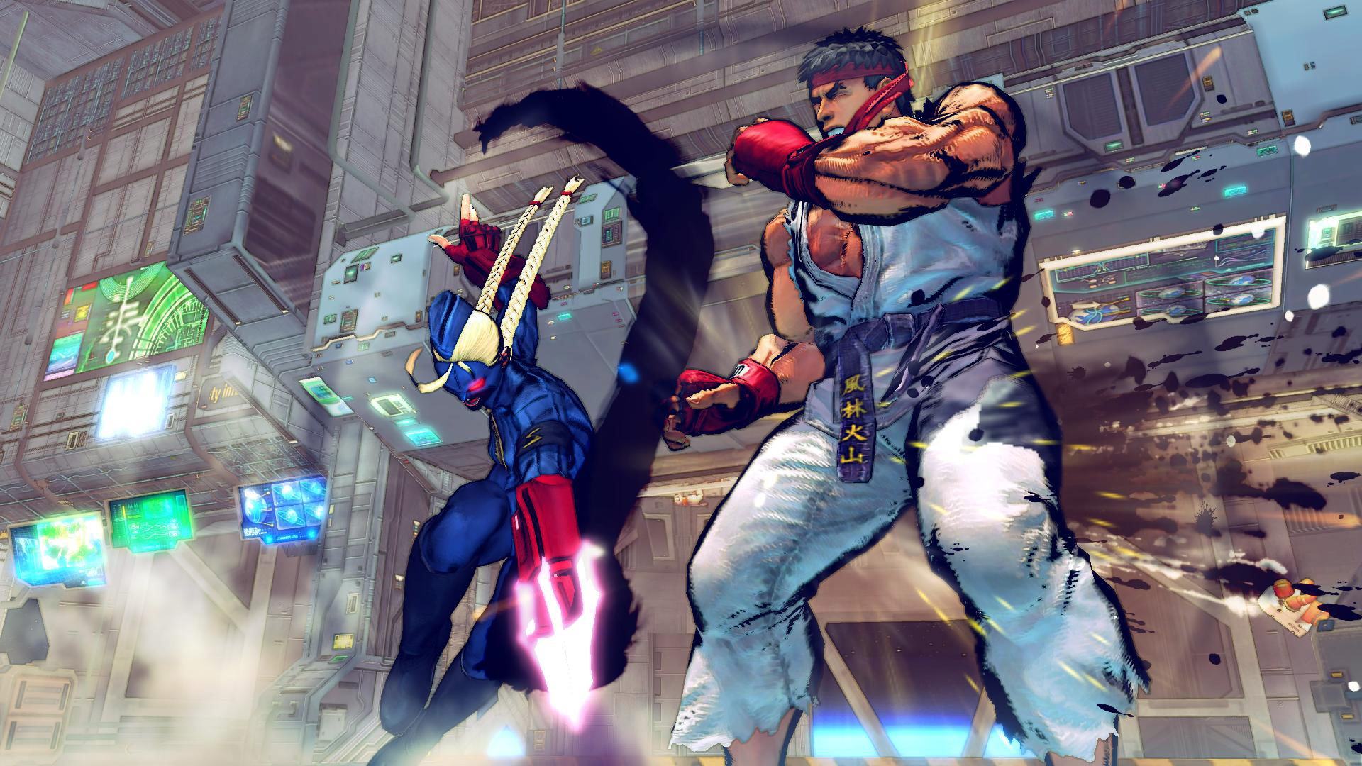 Decapre artwork and screen shots for Ultra Street Fighter 4 image #8