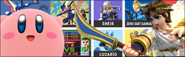 Kirby and Pit are top-tier, followed by Villager, Zero Suit Samus, Mario and Wii Fit Trainer ...
