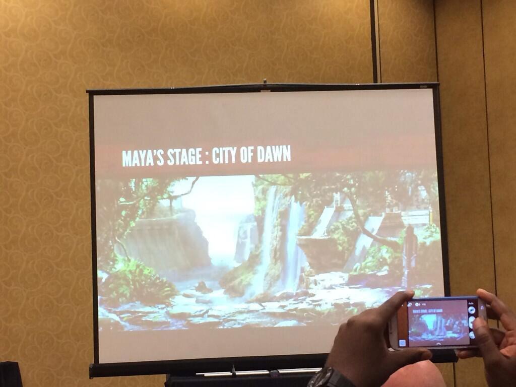 "Maya's stage, ""City of Dawn,"" in Killer Instinct season 2"