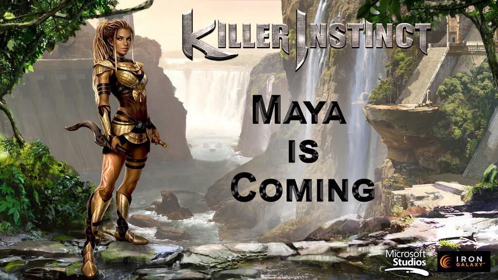 Maya Killer Instinct season 2 promotional image