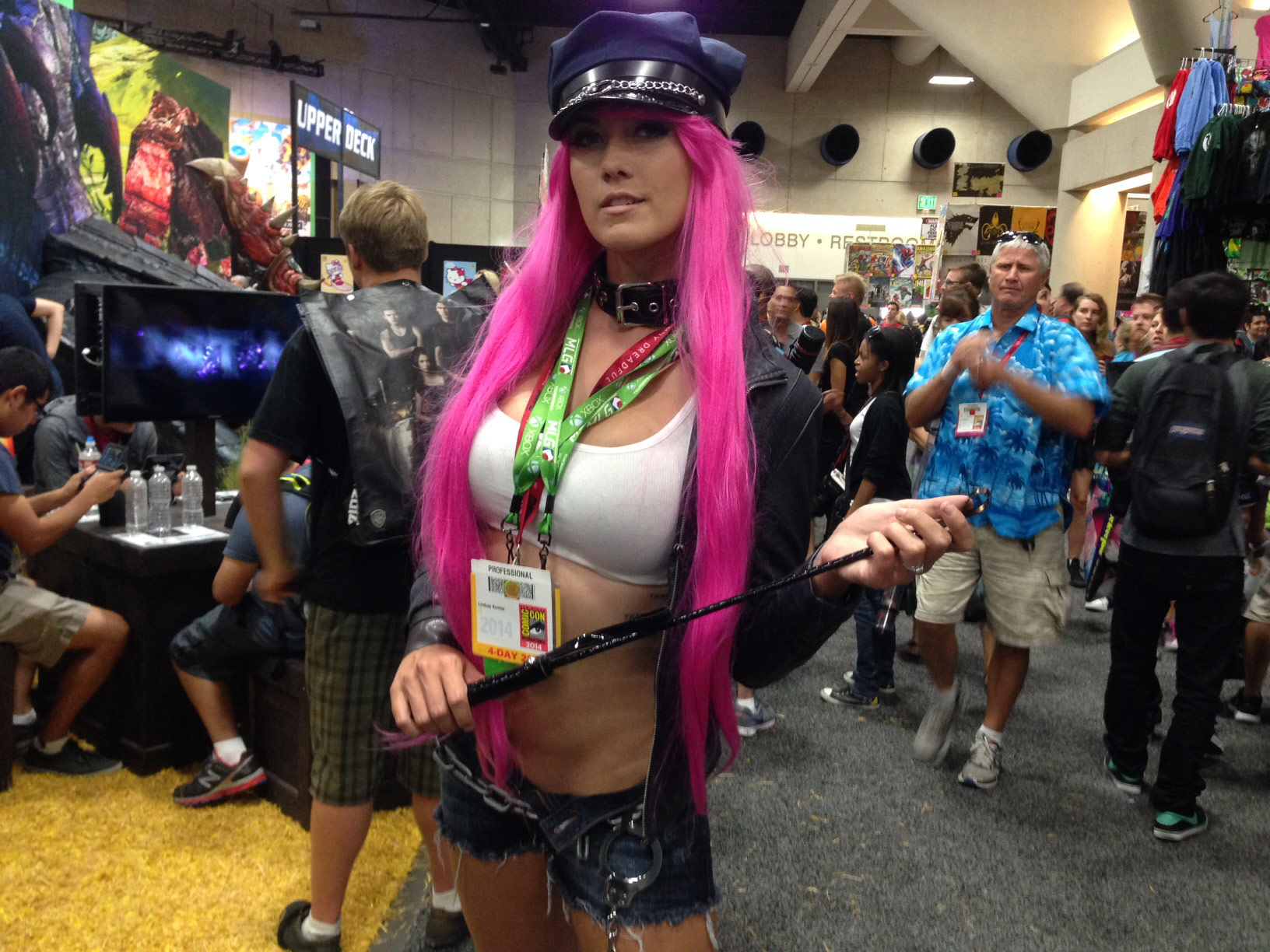 Pictures Of Cool Cars >> San Diego Comic-Con fighting game related cosplay, photo #1