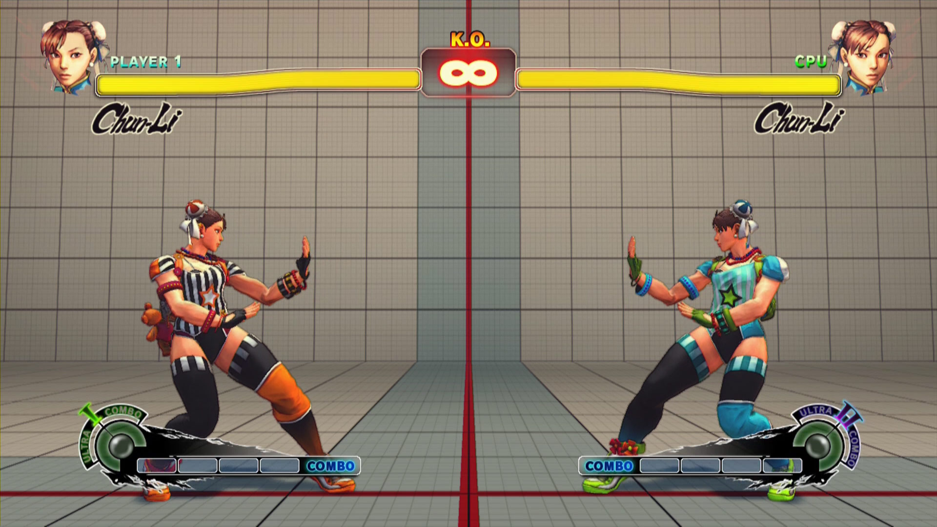 Summer Vacation costume colors in Ultra Street Fighter 4, image #7