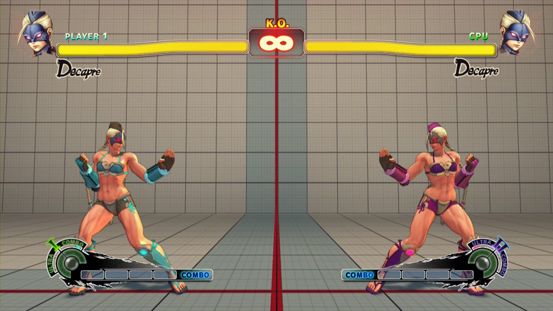 Summer Vacation costume colors in Ultra Street Fighter 4, image #11