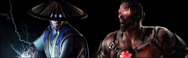 Mortal Kombat X Wallpapers Featuring Kano And Raiden As Well As
