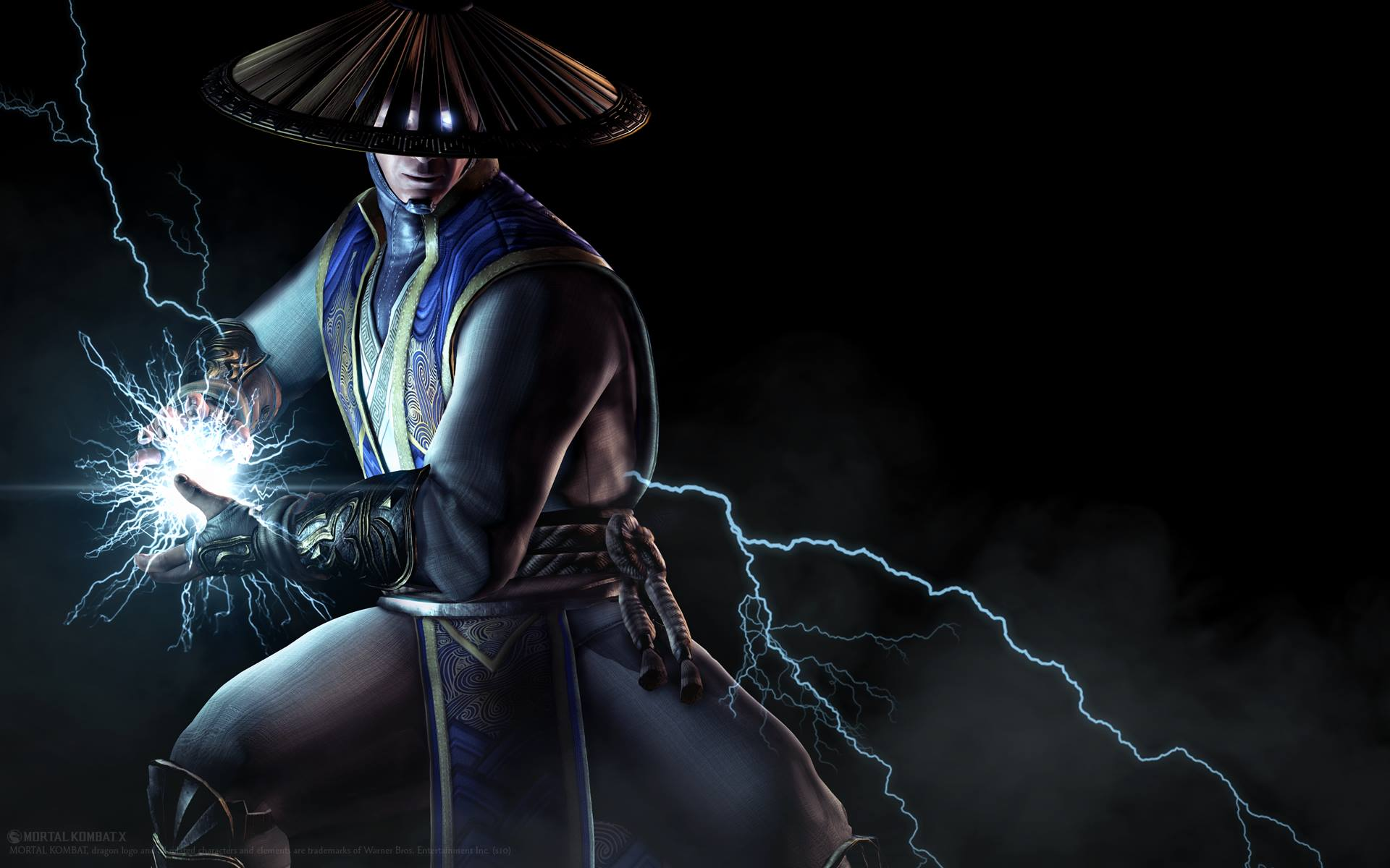 mortal kombat x raiden wallpaper