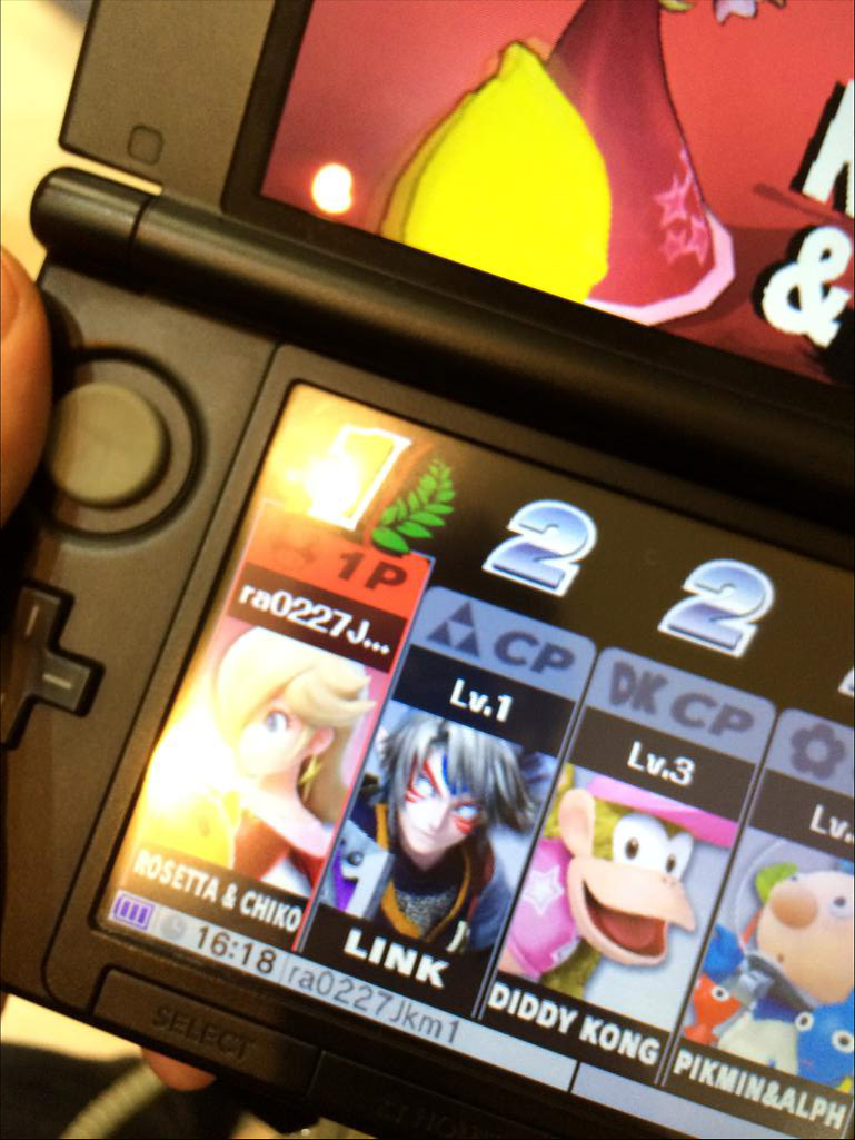 Images: Fierce Diety Link, Dixie Kong, Alph and... Is that Wolf in Super Smash Bros. 3DS? - 01