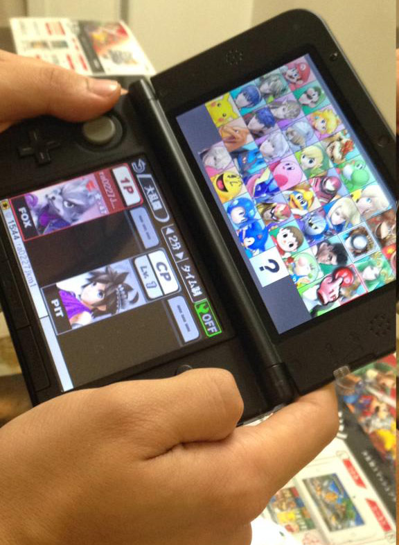 Images: Fierce Diety Link, Dixie Kong, Alph and... Is that Wolf in Super Smash Bros. 3DS? - 02