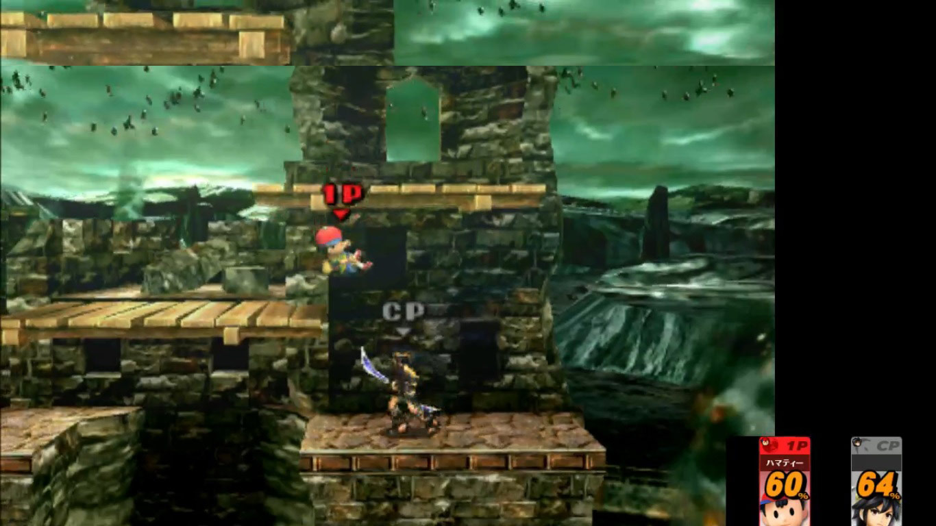 Ness and Falco leaked in Super Smash Bros. 3DS, image #9