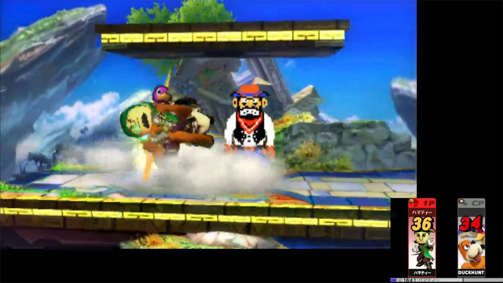 Ness and Falco leaked in Super Smash Bros. 3DS, image #11