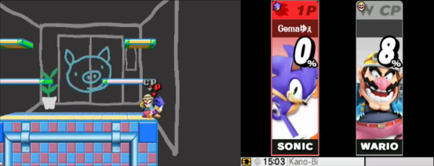 Ness and Falco leaked in Super Smash Bros. 3DS, image #19