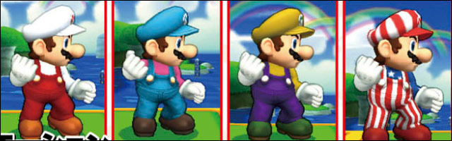 Every Color Palette For All Currently Announced Characters In Super Smash Bros 3DS