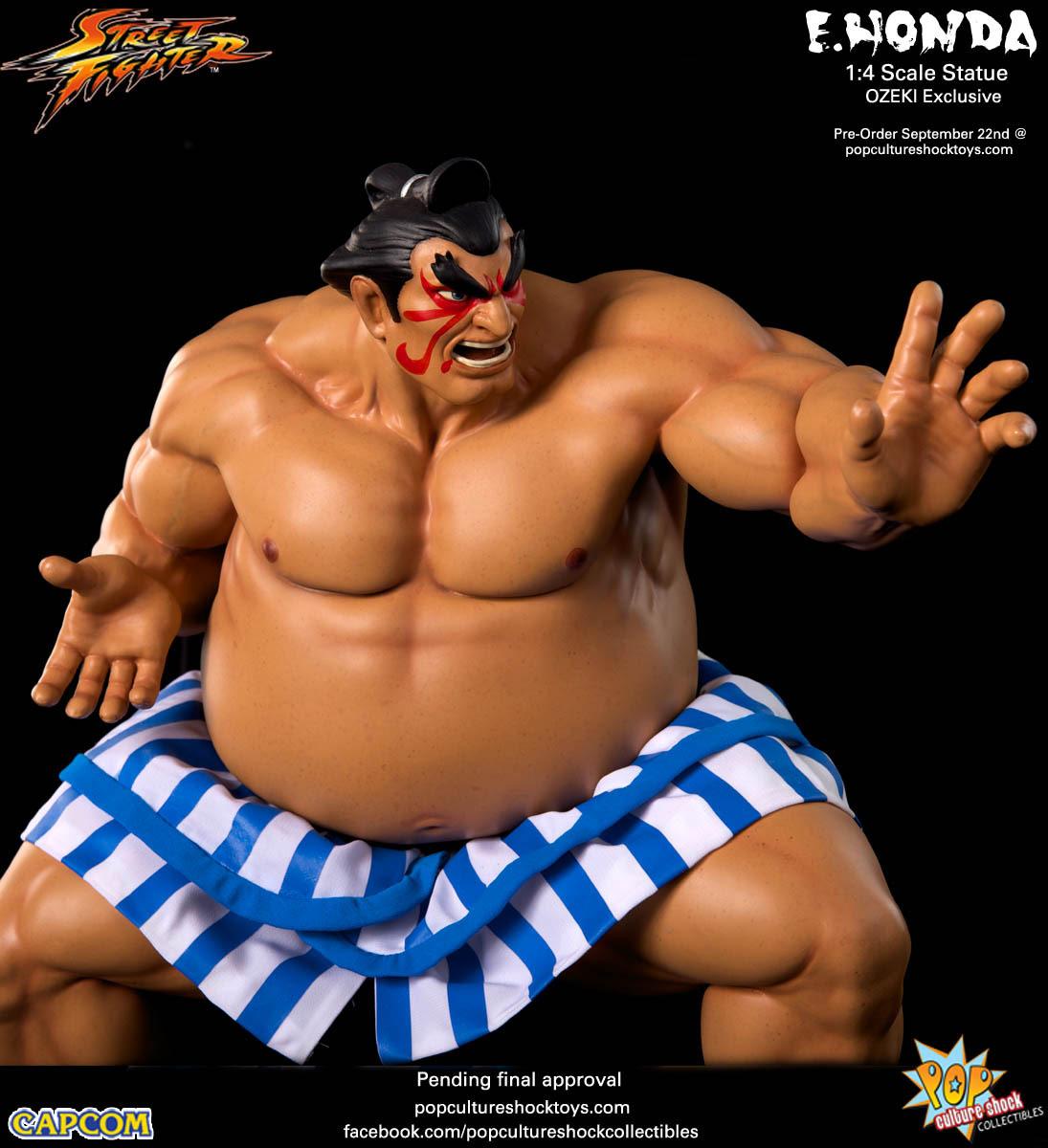 Pop Culture Shock S Latest Street Fighter Statues E