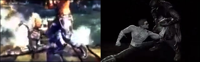 Cassie Cage Has Johnny Cage S Split Punch Nutcracker Attack