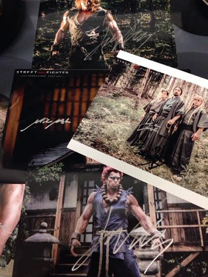 Signed Photos Of The Street Fighter Assassin S Fist Crew Image 2