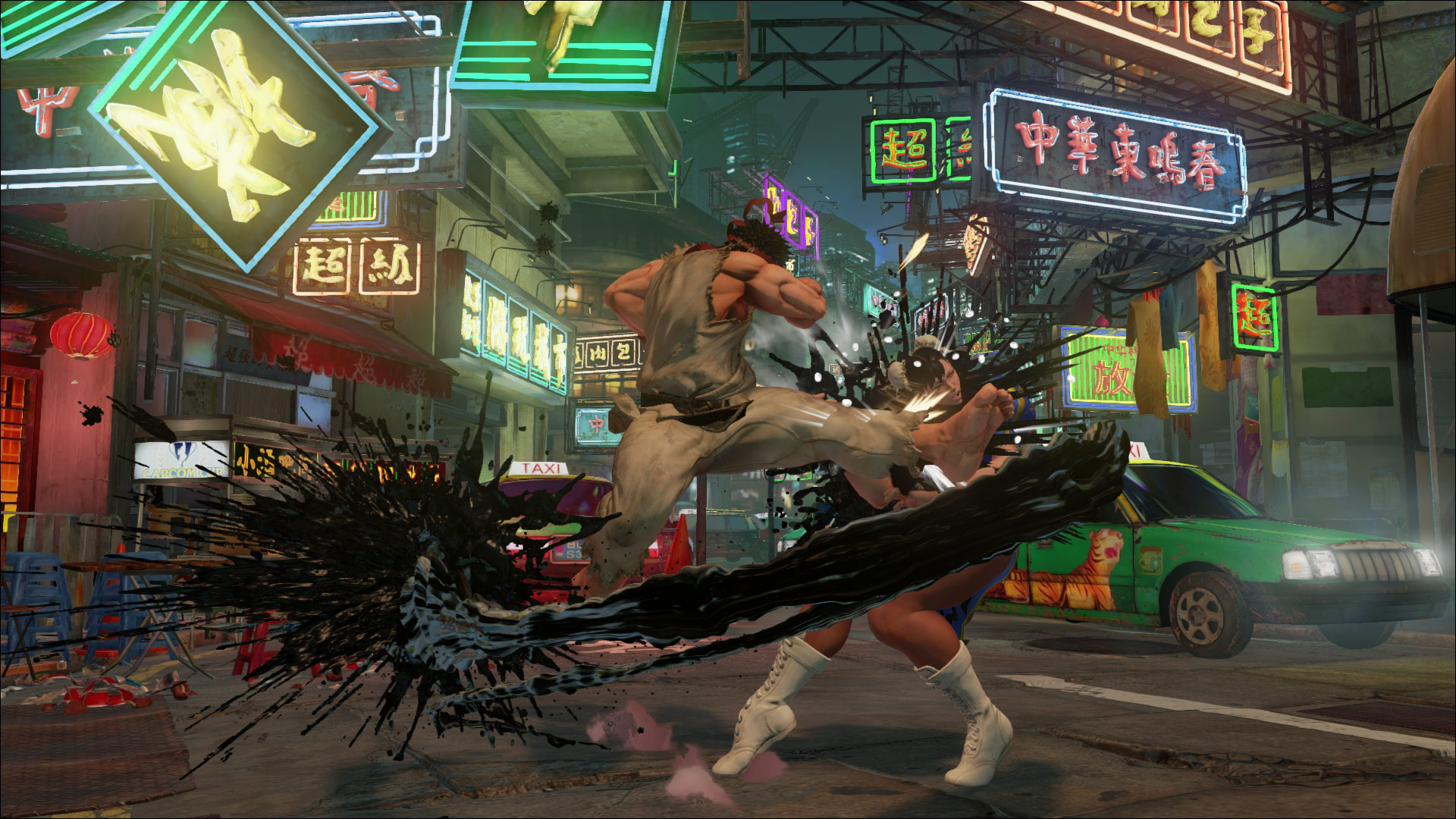 Street Fighter 5 high resolution screen shots, cover art and logo image #2