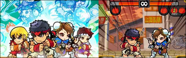 Street Fighter: Puzzle Spirits released today for Android