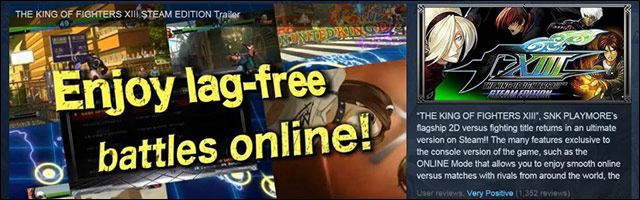 75 Off The King Of Fighters 13 Steam Edition This Weekend Offer