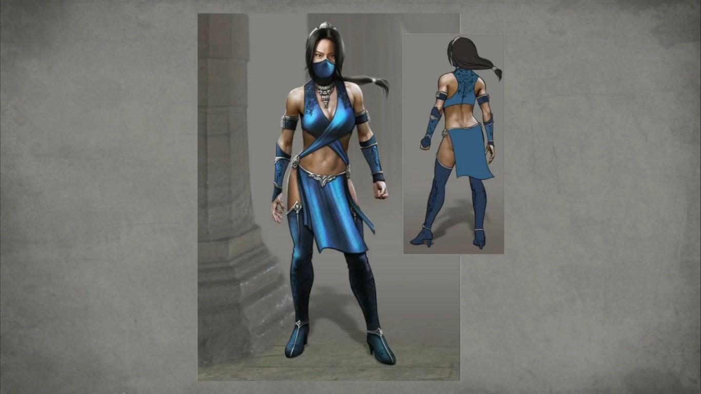 Reptile And Kitana Mortal Kombat X Alternate Costumes 1