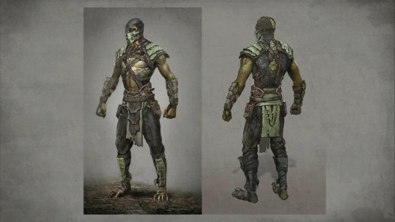 Reptile And Kitana Mortal Kombat X Alternate Costumes 2
