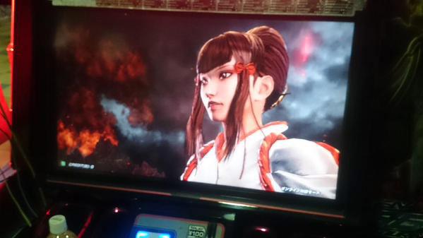 Kazumi, Tekken 7's boss, screenshot #1
