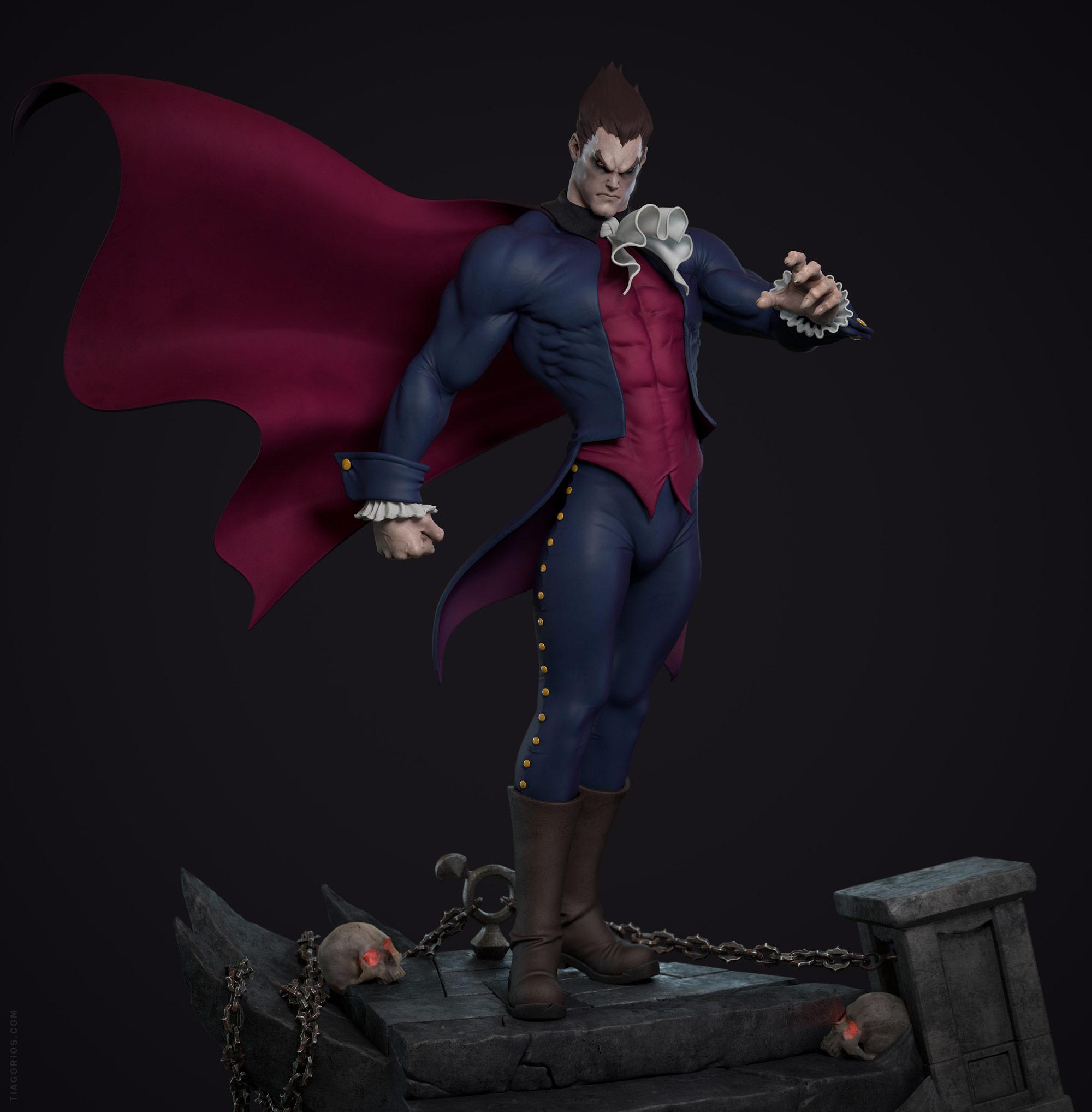 Darkstalkers 3d Fan Art Image 1