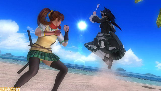 Dead or Alive 5 Last Round: destructible costumes (Senran Kagura collaboration) are the next in line for DLC