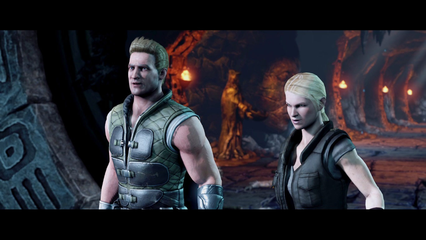 johnny cage and sonya blade in mortal kombat x image 1
