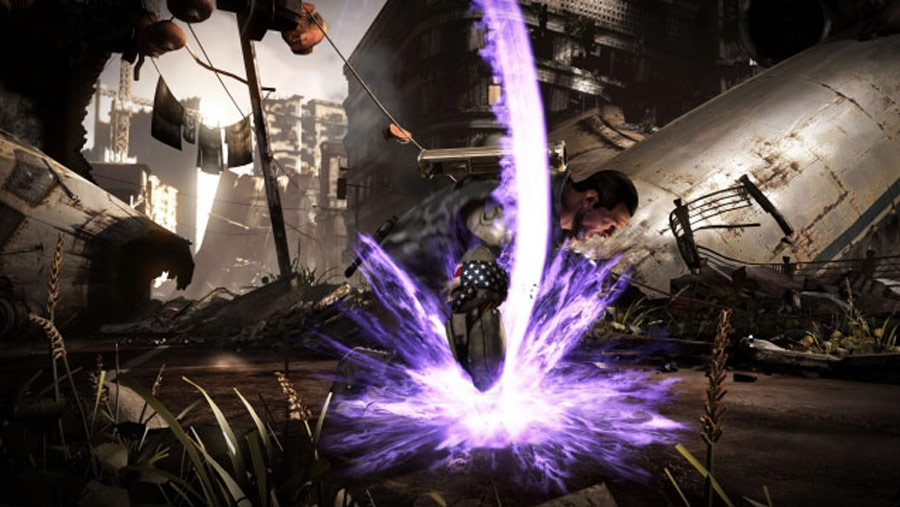Mortal Kombat X screen shots of Erron Black, Baraka, Shinnok, Goro and Jax #5