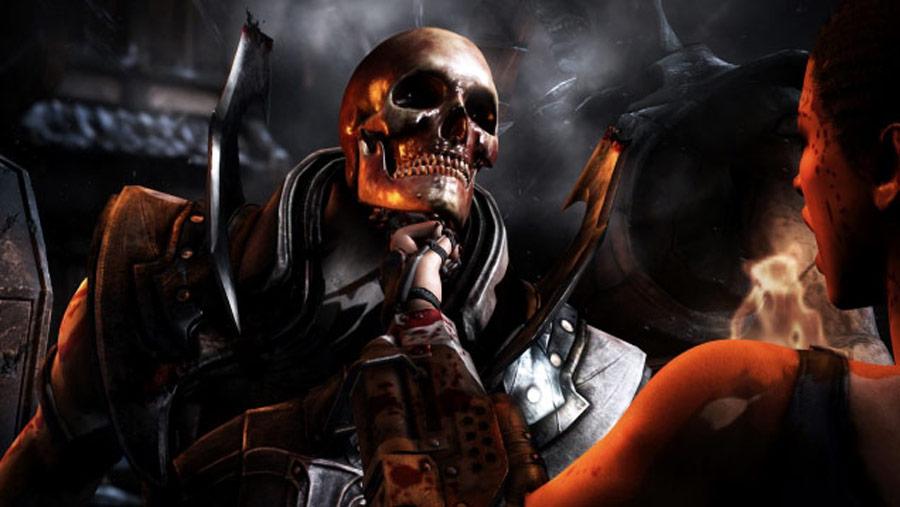 Mortal Kombat X screen shots of Erron Black, Baraka, Shinnok, Goro and Jax #24