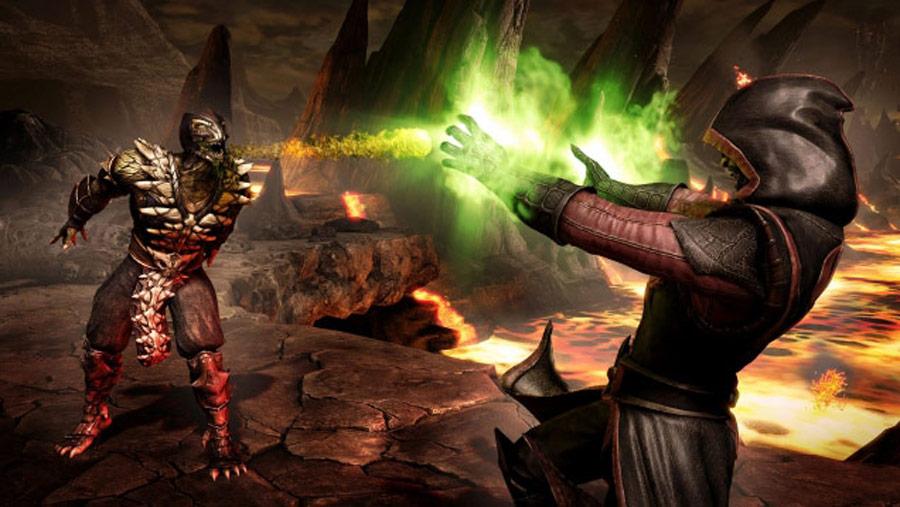 Mortal Kombat X screen shots of Erron Black, Baraka, Shinnok, Goro and Jax #25