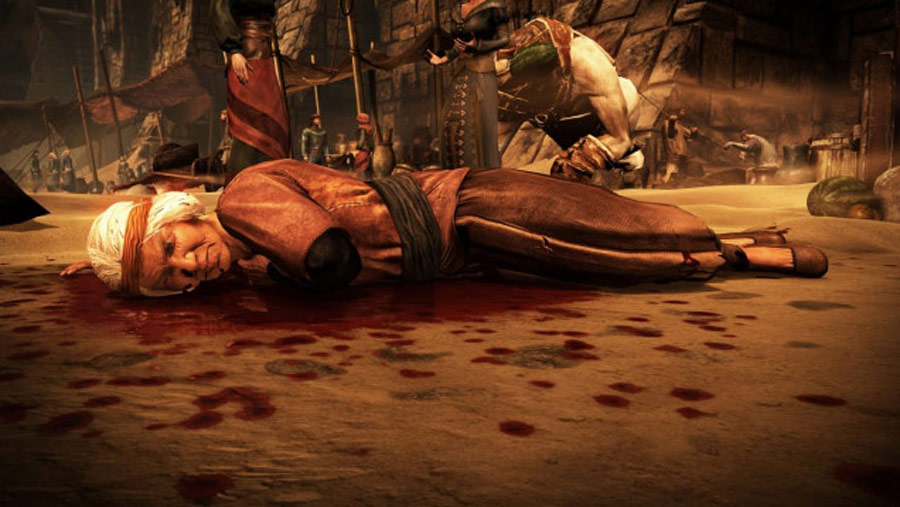 Mortal Kombat X screen shots of Erron Black, Baraka, Shinnok, Goro and Jax #27